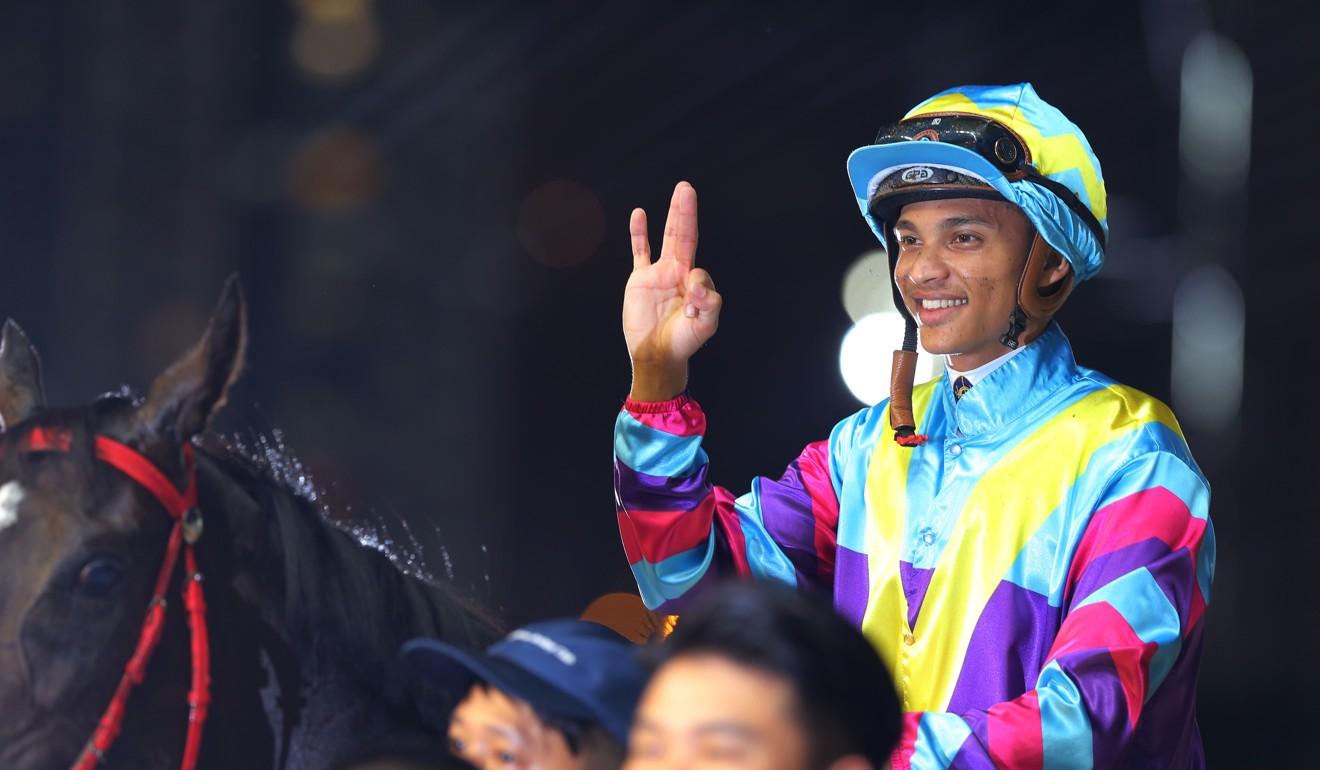 Grant van Niekerk's first season in Hong Kong has been a profitable one.