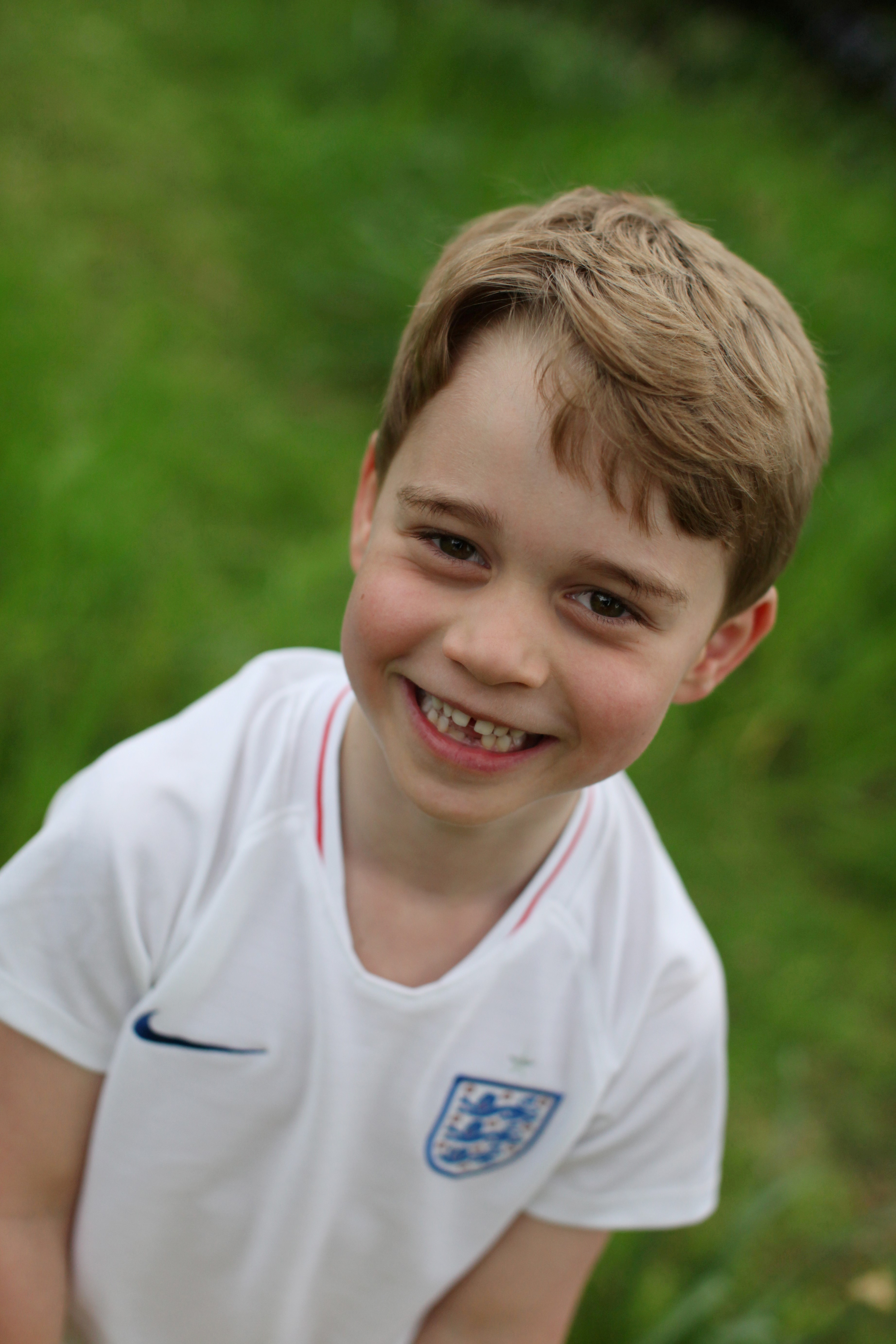 UK's royal family releases new photos of Prince George as he