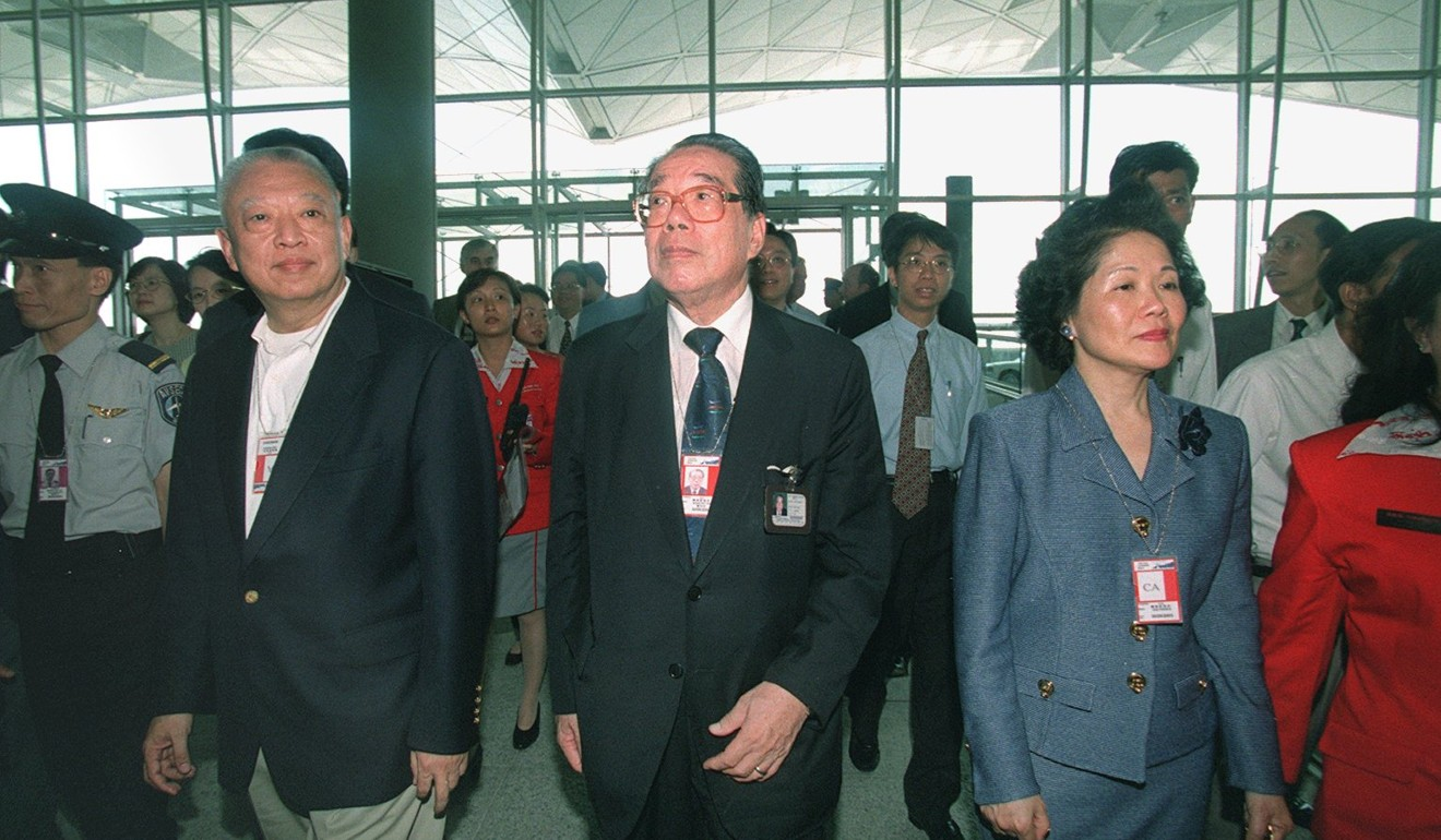 First chairman of Hong Kong's Airport Authority Wong Po-yan dies, aged 96