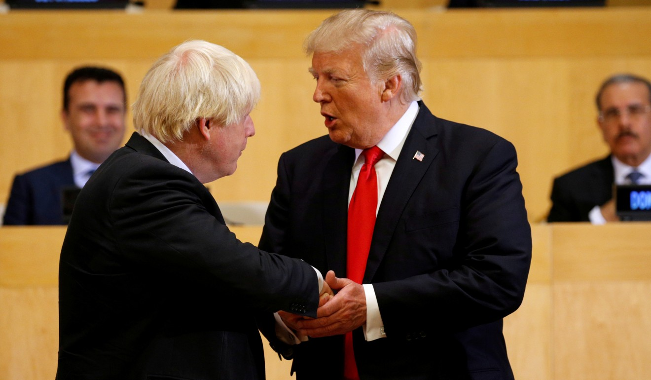Will bromance endure between fellow New Yorkers Donald Trump and Boris Johnson?