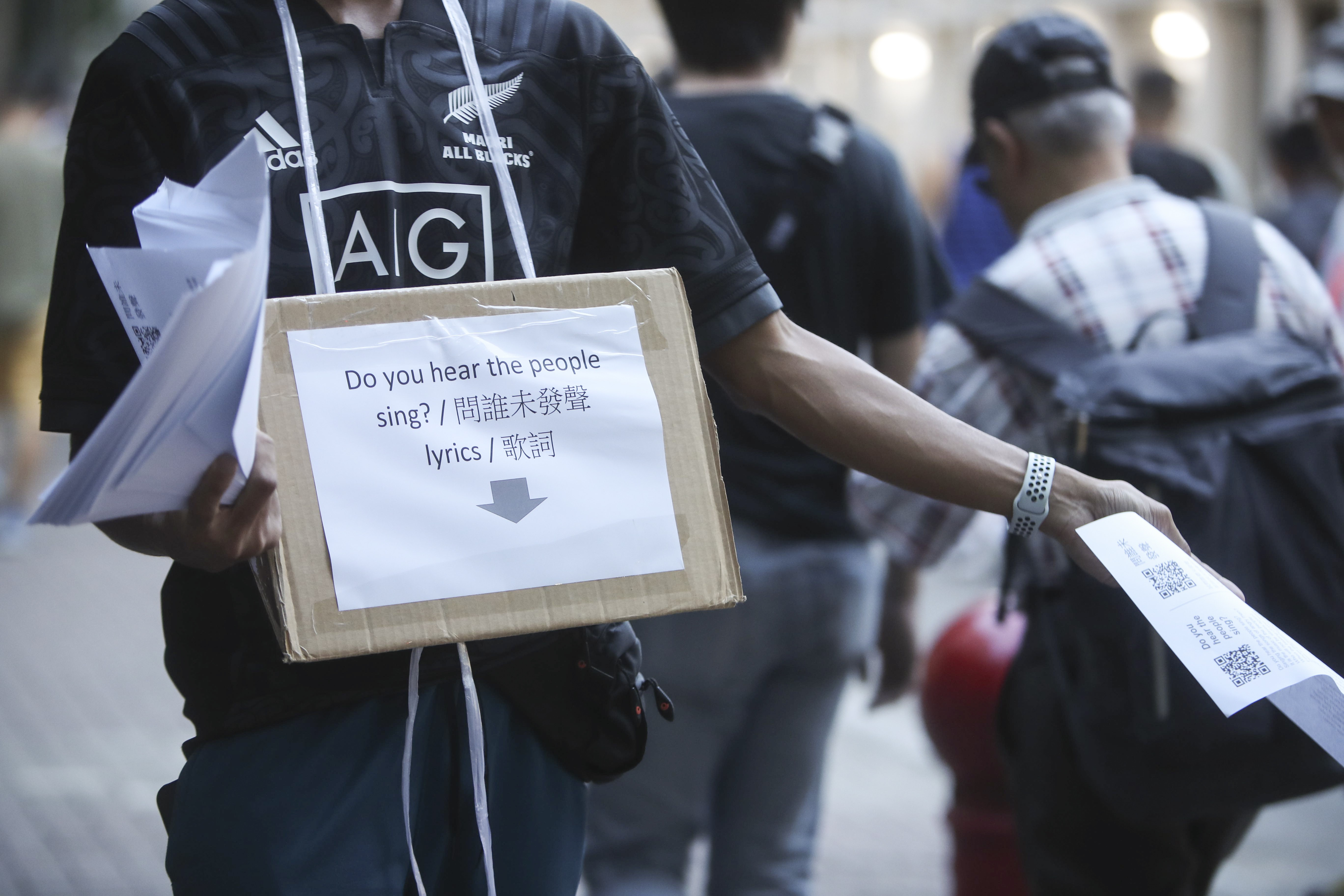 Football Fans Call For Free Hong Kong In Anti Government Protest At Manchester City V Kitchee Game South China Morning Post