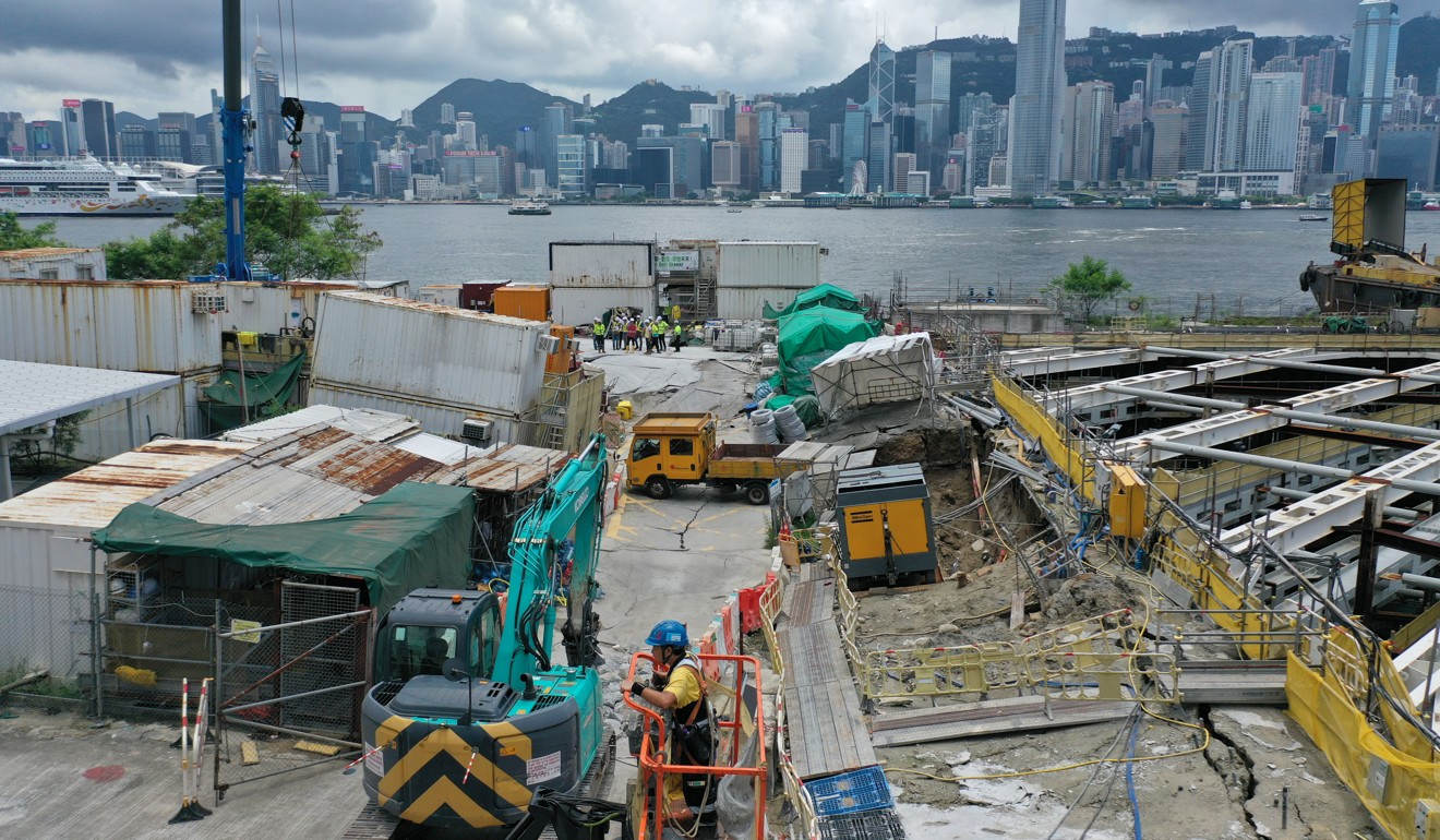Sinkhole, leaks and flooding plague construction of Hong