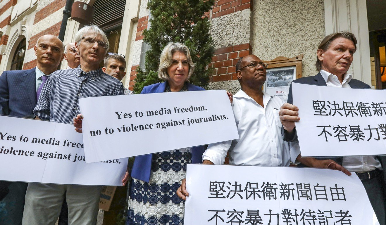 Amid Hong Kong protests, five steps Carrie Lam should take to protect press freedom