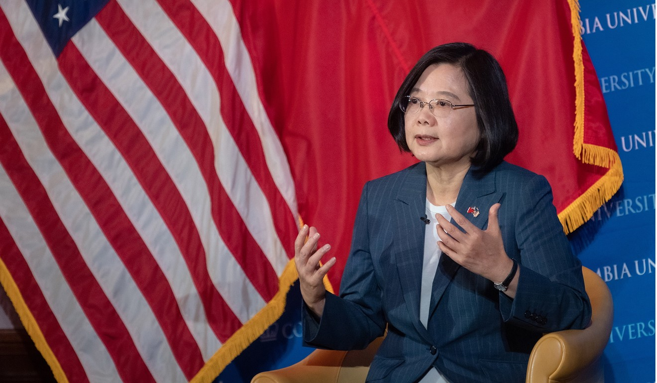 Taiwan's 2020 election candidates? It's the US vs China