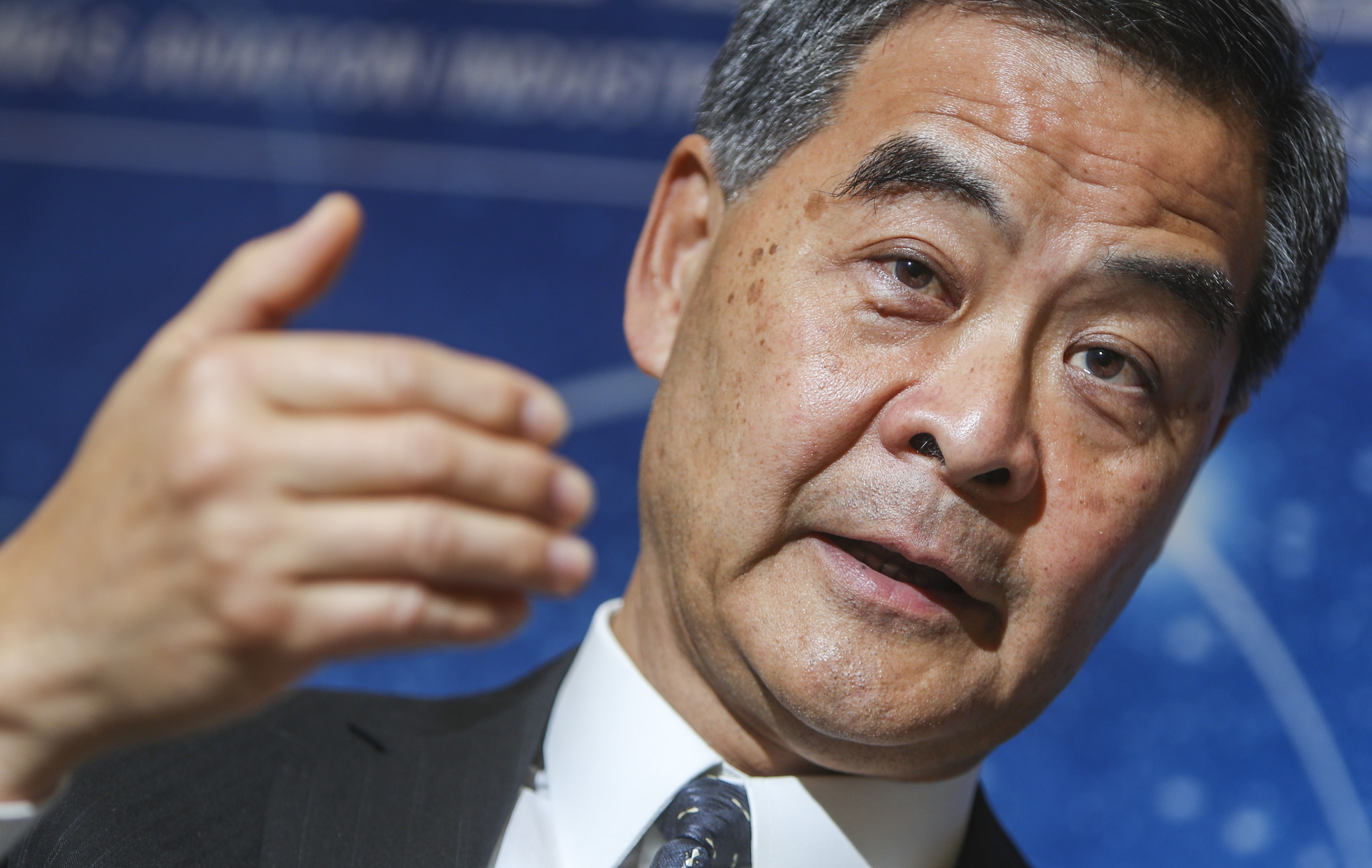 Former Hong Kong leader Leung Chun-ying calls for boycott of