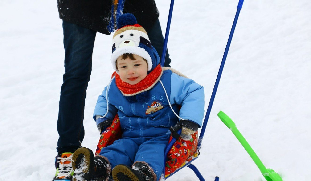 Within Happo-One there are two different kids' parks where children can get started with skiing. Photo: Victoria Borodinova/ Pexels