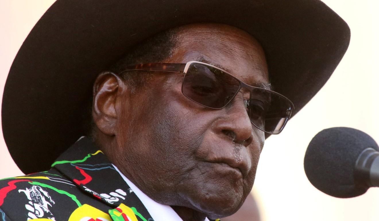 Former president Robert Mugabe. Photo: Reuters