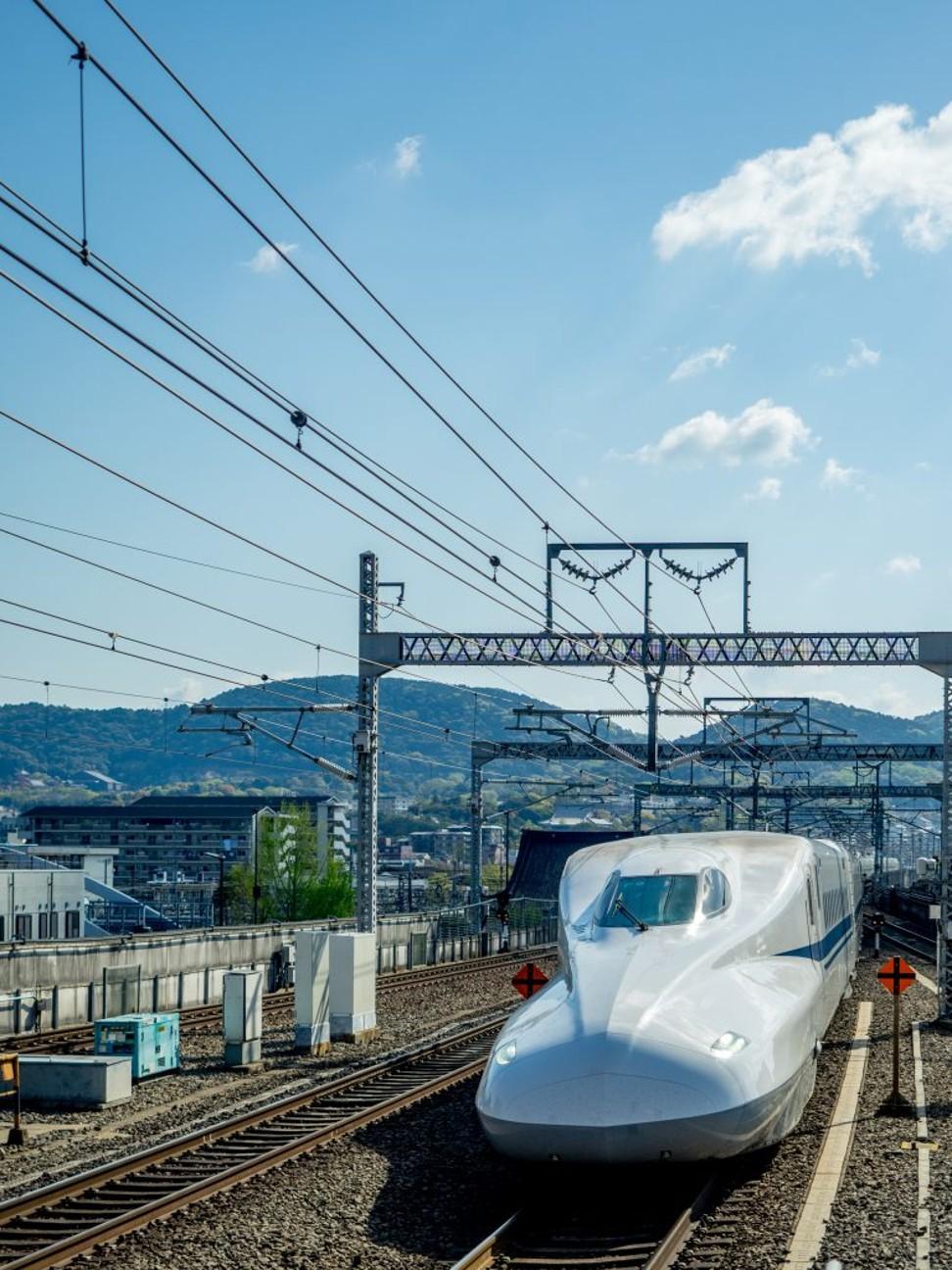 Shinkansen bullet train. Photo: Ajay Suresh