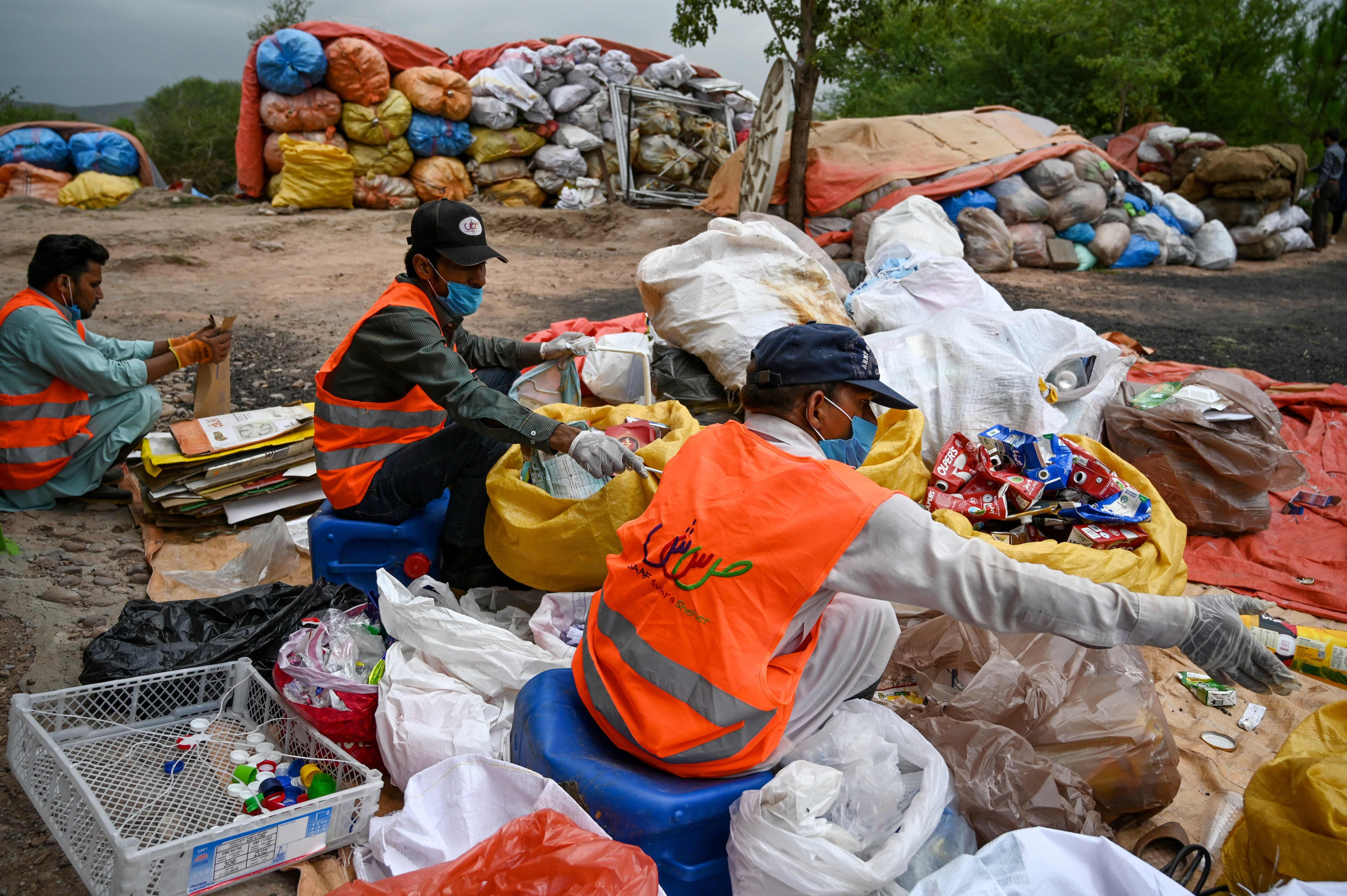 Pakistan's 'love affair with plastic' has become toxic and has to