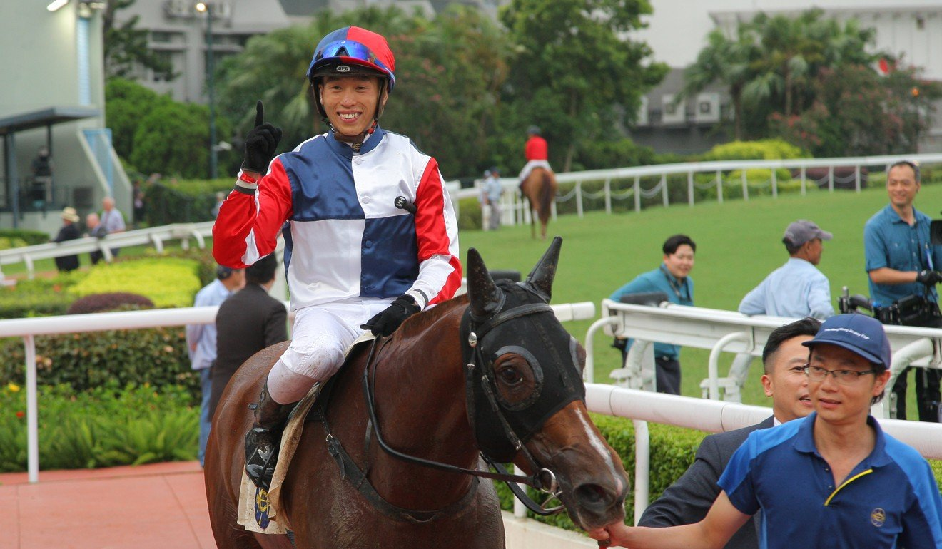 Vincent Ho is carrying on his strong Hong Kong form abroad. Photo: Kenneth Chan