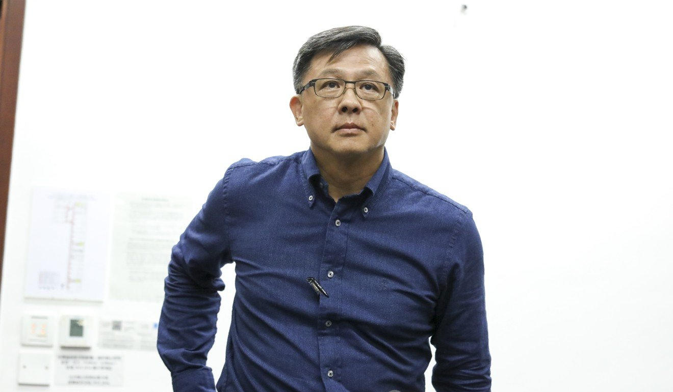 Pro-establishment lawmaker Junius Ho. Photo: Nora Tam