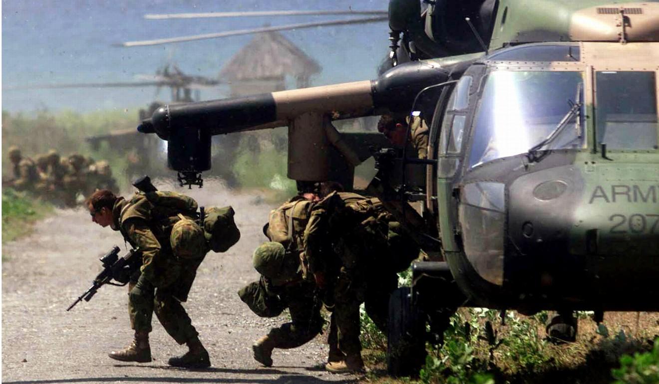 Australian troops in East Timor in 1999. Photo: Reuters