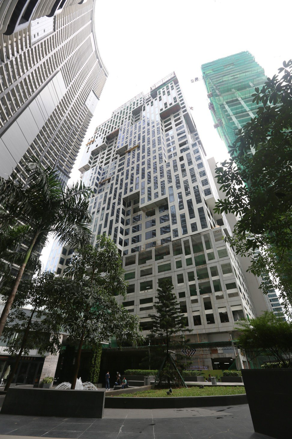PHILIPPINE REITS - Century Properties Group's Century Diamond Tower will add 58,000 square metres of leasable area to its portfolio when the project is completed by the end of the year