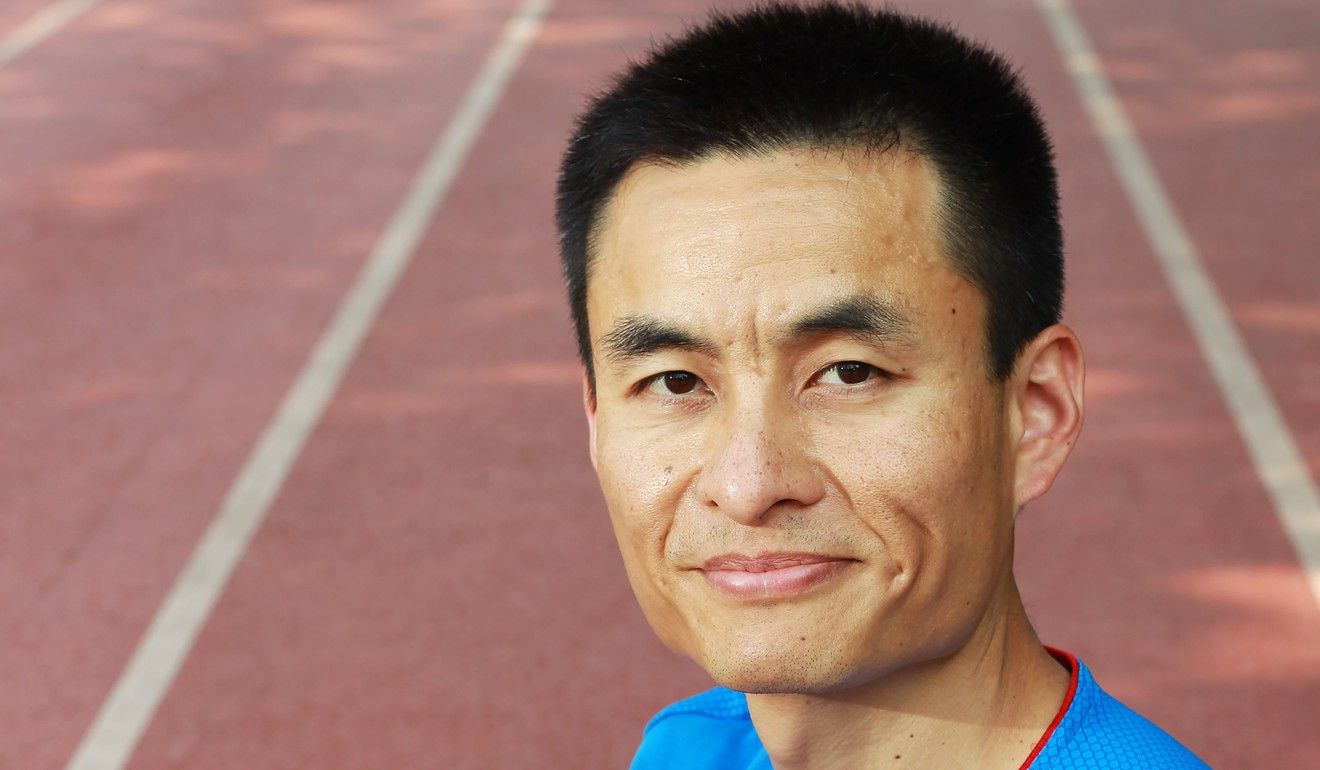 Sports coach Lee says posture is key to running economy. Photo: SCMP