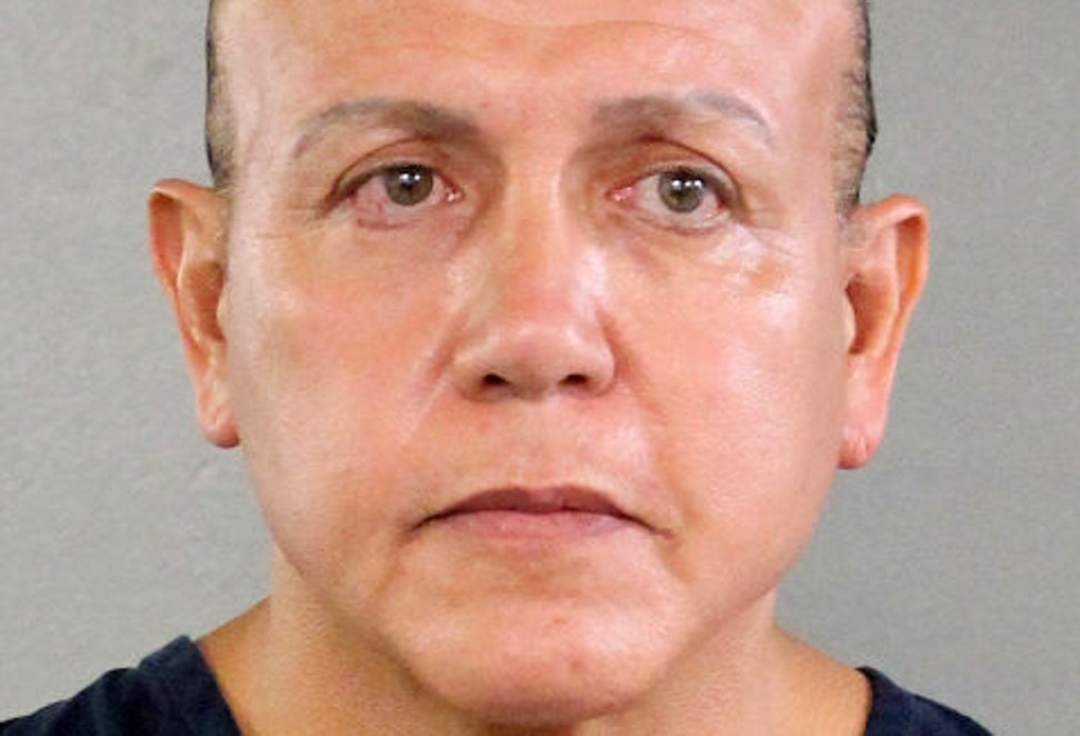 'MAGA bomber' Cesar Sayoc, who mailed pipe bombs to Donald Trump's critics, weeps as judge jails him for 20 years