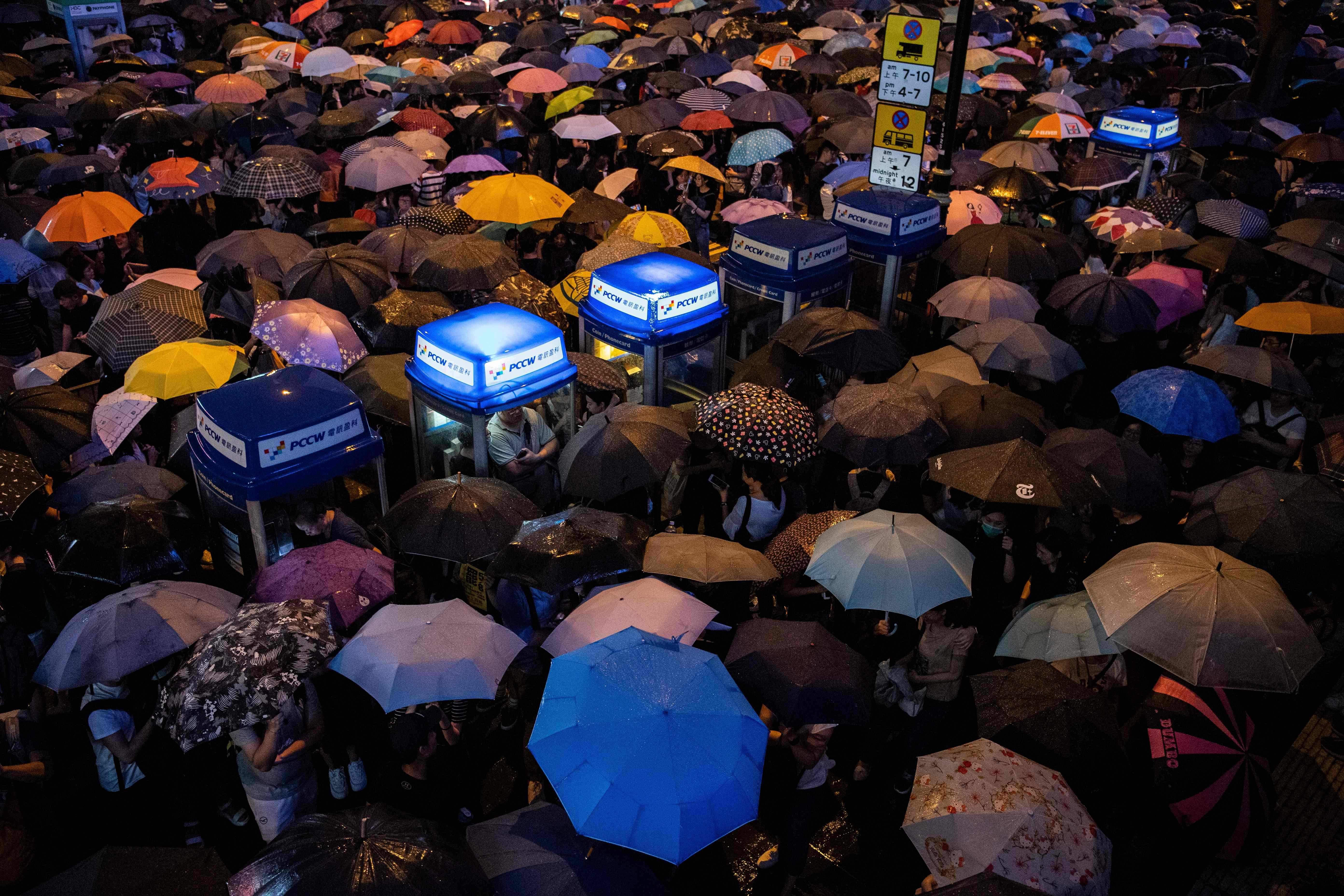 When Hong Kong civil servants protest too, can China still