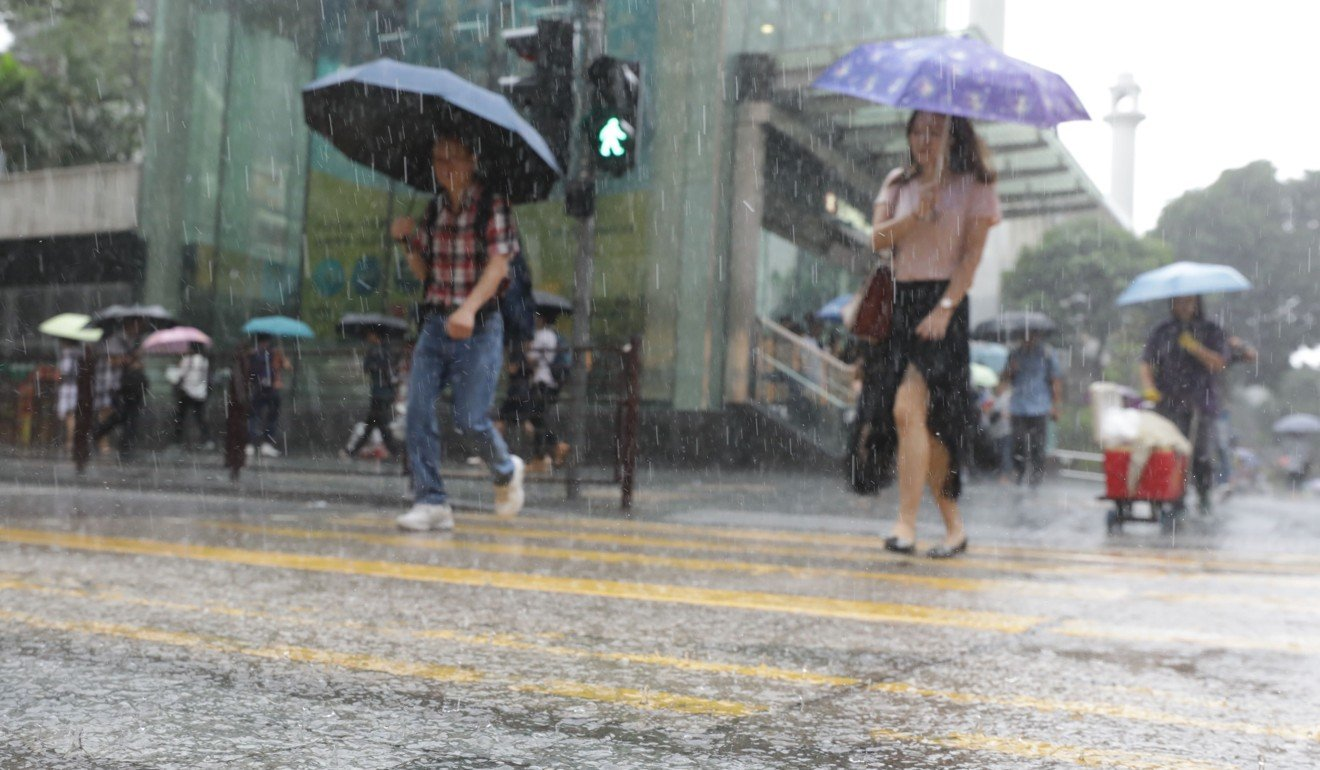 Summer in Hong Kong is wet or humid, making it very difficult to dry your shoes. Photo: May Tse