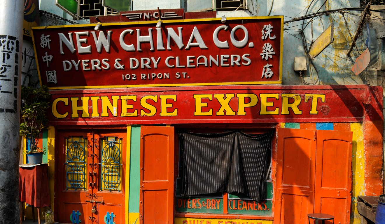 A dry cleaners called New China Co in Kolkata, India. Photo: Alamy Stock Photo