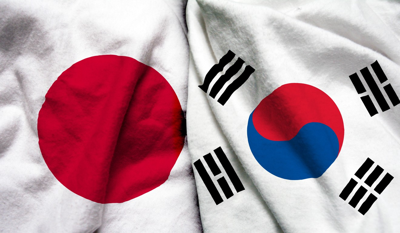 Relations between South Korea and Japan have deteriorated following a court ruling over forced labour in the wartime era. Photo: Shutterstock