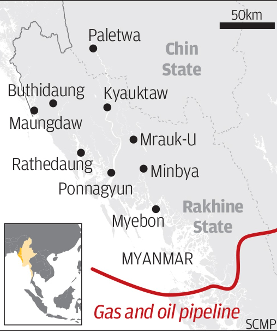 Myanmar's changing ties with China | South China Morning Post