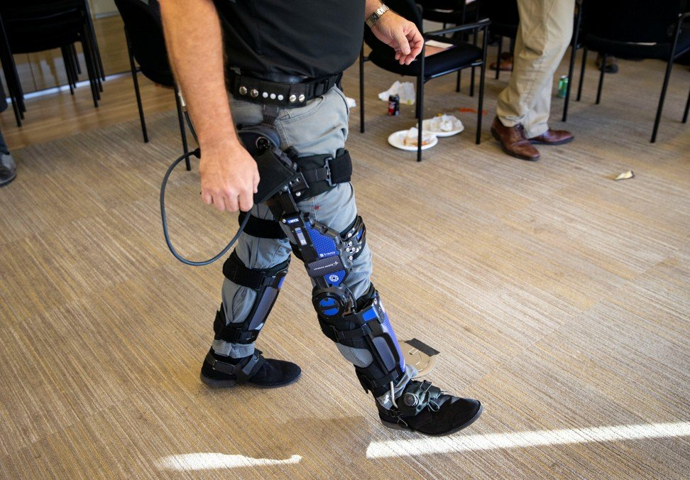 The global market for exoskeletons is projected to be worth nearly US$2 billion by 2025, according to the latest edition of Huawei Technologies' Global Industry Vision report. Photo: Reuters