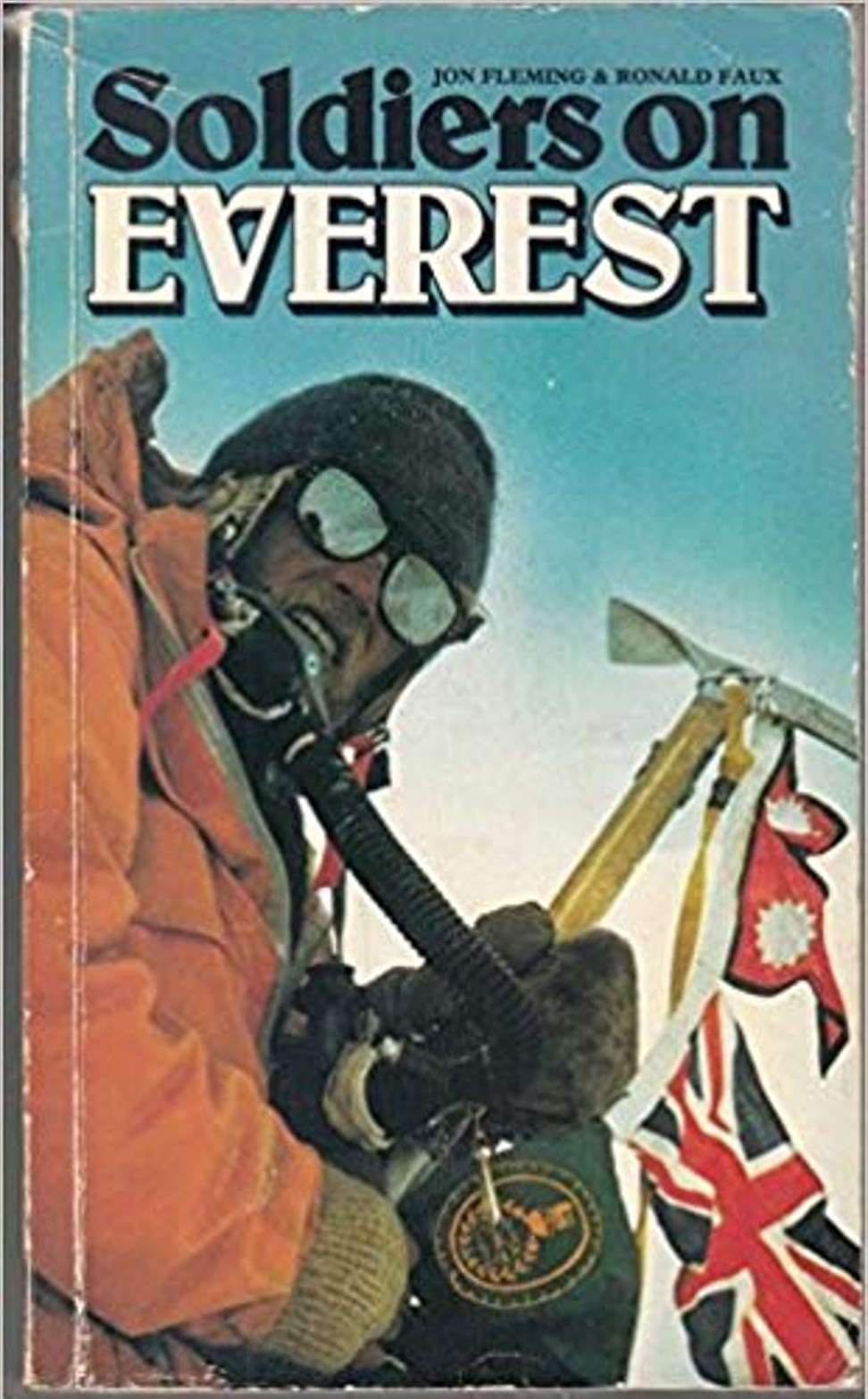Soldiers on Everest, a book about the 1976 Army expedition by Ronnie Faux and John Flemming. Photo: Handout