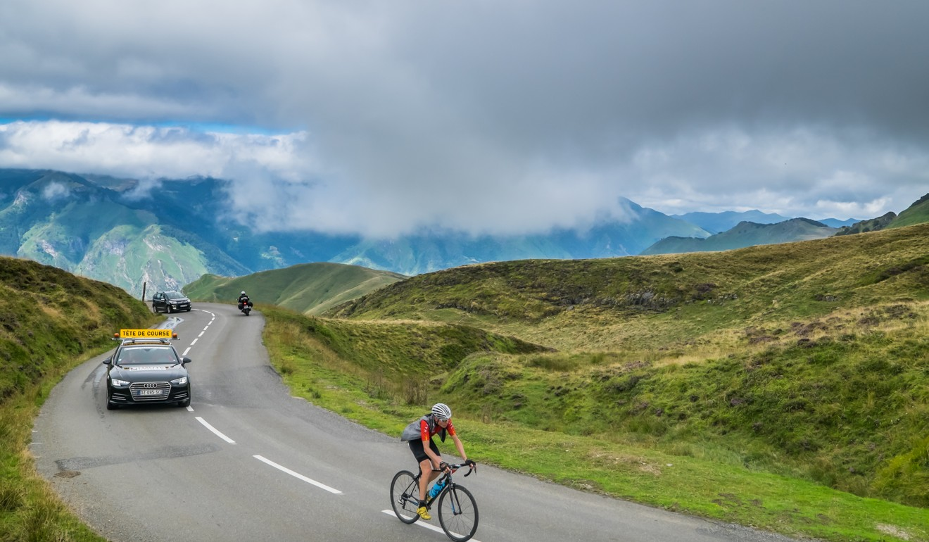Haute Route, Pyrenees: Amateur races let cyclists feel like pros, with all the bells and whistles, including support cars.