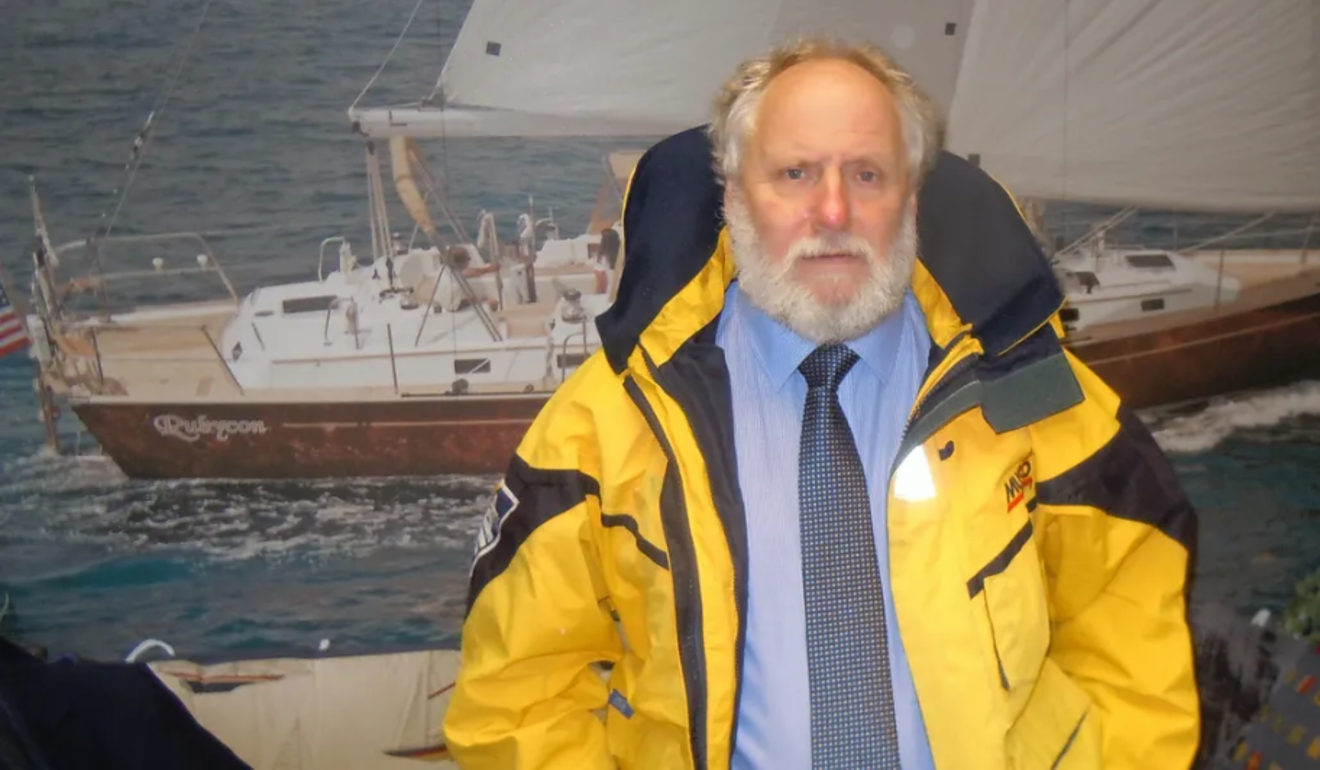 Peter 'Stokey' Woodall, weather router for sailing and ocean rowing. Photo: International Ocean Services