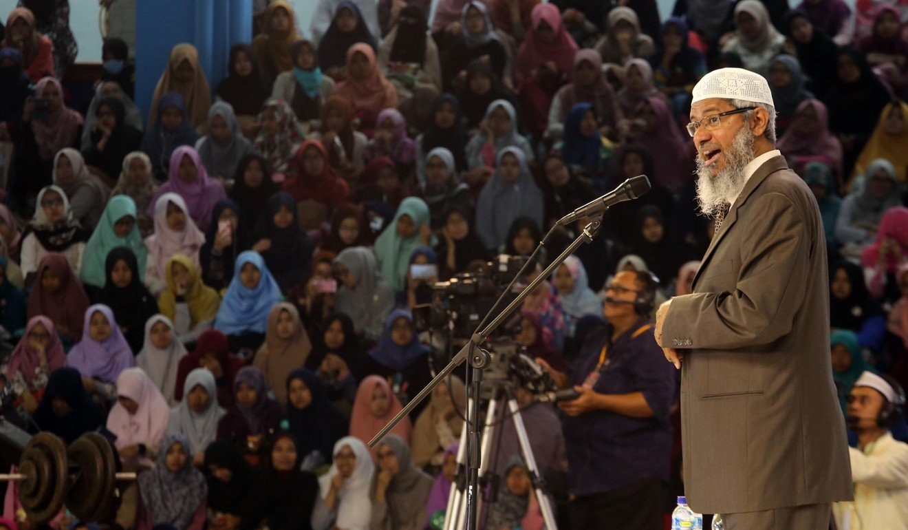 The presence of controversial Indian Muslim preacher Zakir Naik in Malaysia has sparked public disquiet. Photo: Alamy