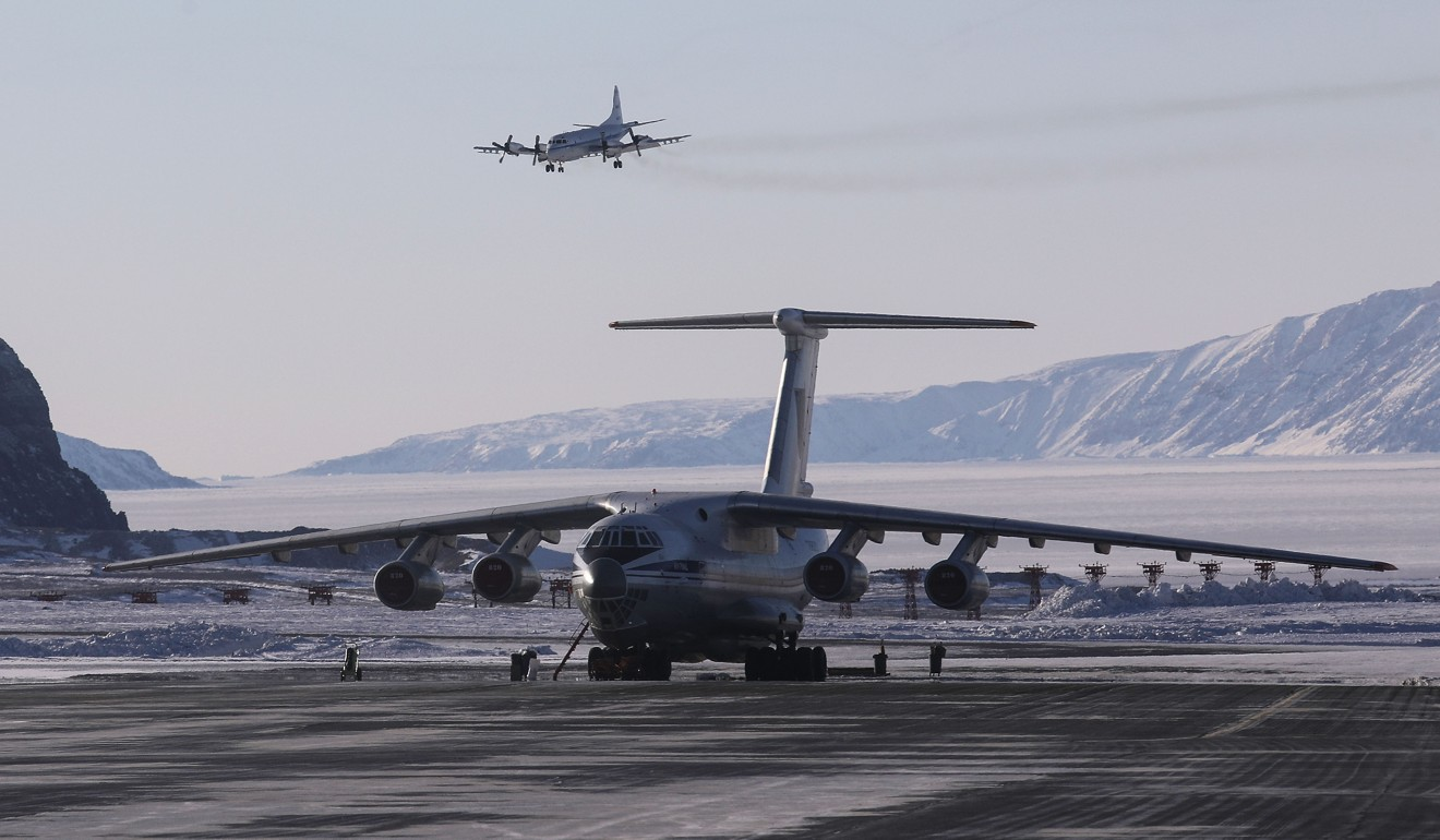 Thule Airbase in Pituffik, Greenland. File photo: AFP
