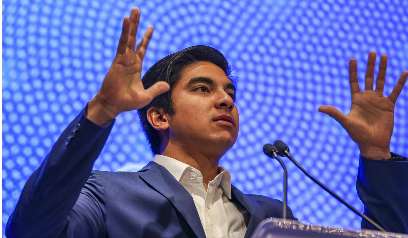 Youth and sports minister Syed Saddiq has demanded preacher Naik be deported. Photo: SCMP