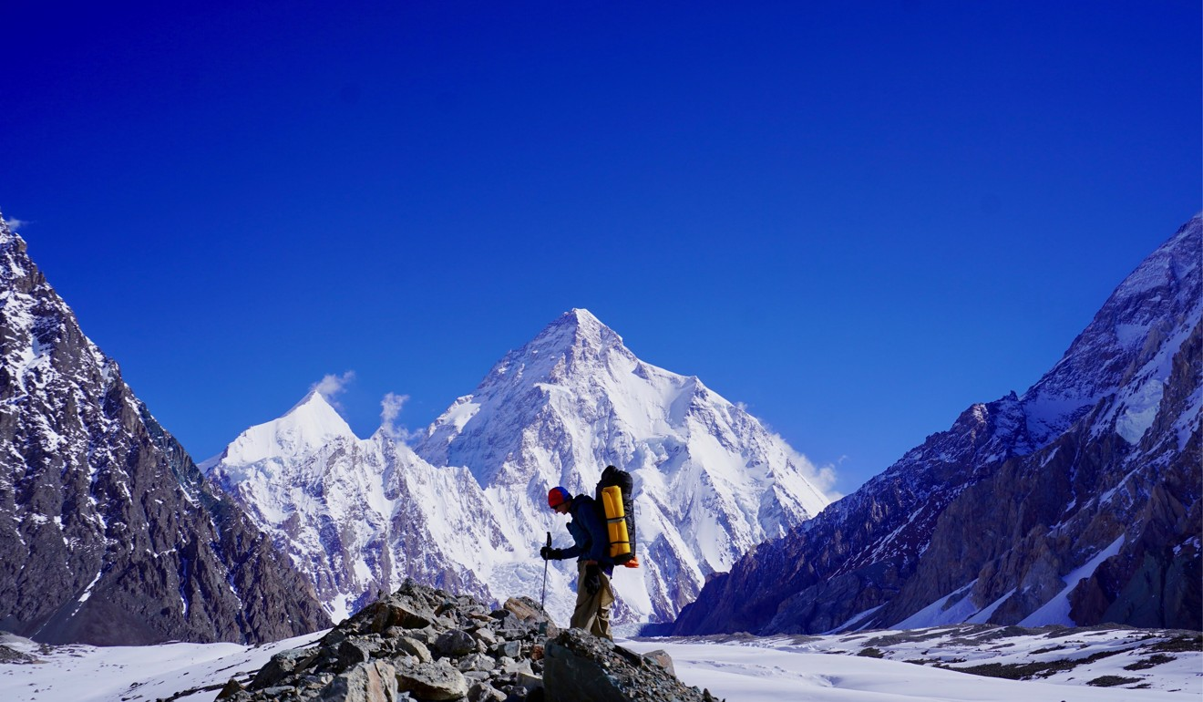 Chan's climb was supposed to be an acclimatisation exercise for K2, but he never gets the change to try for the higher mountain.