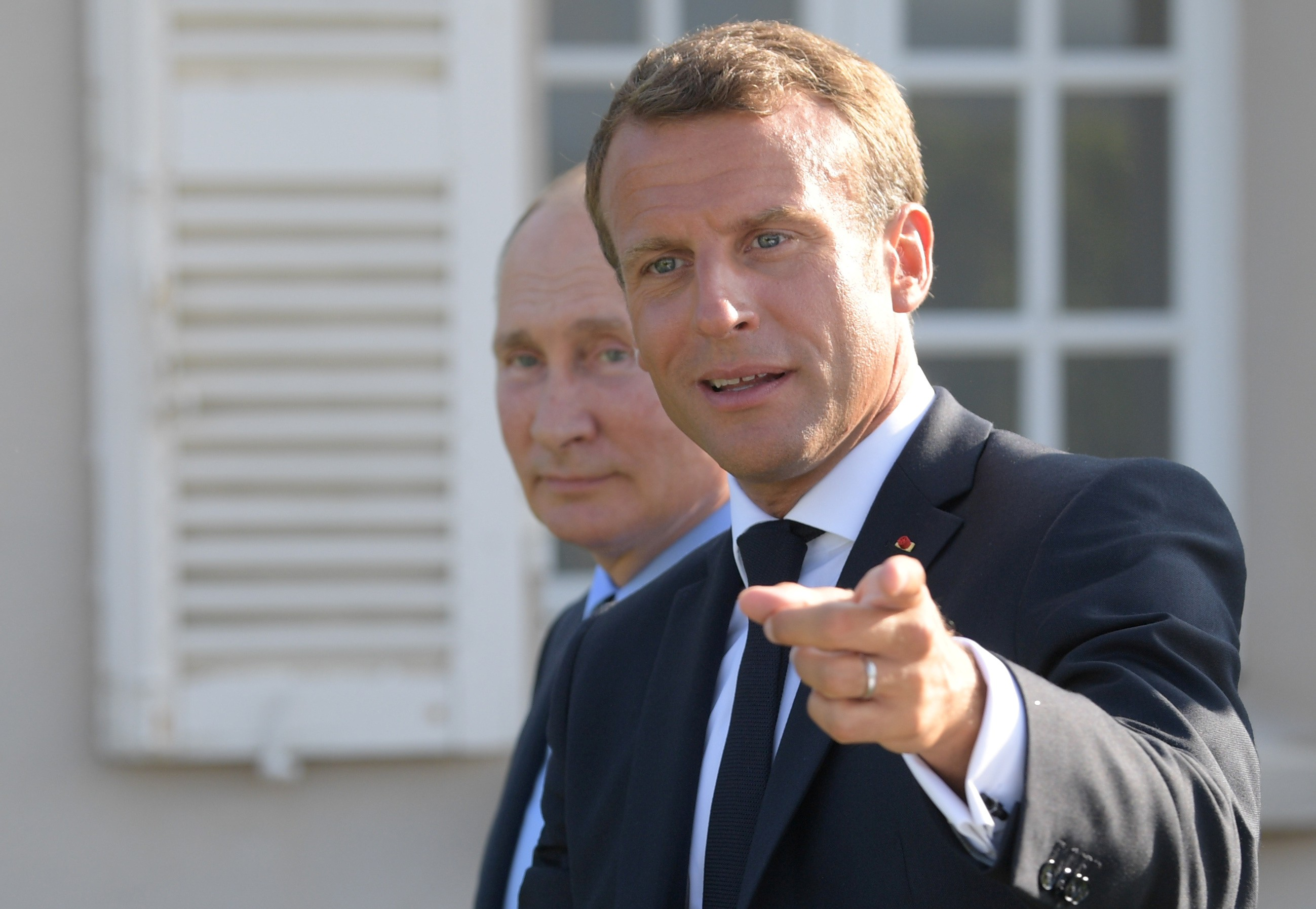 Vladimir Putin And Emmanuel Macron Optimistic On Ukraine But Clash Over Syria South China Morning Post