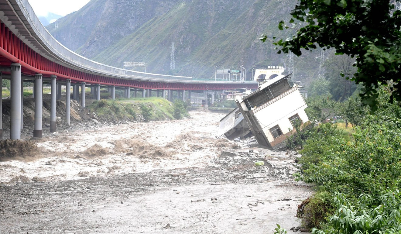 Ten dead as torrential rain and mudslides hit southwest China