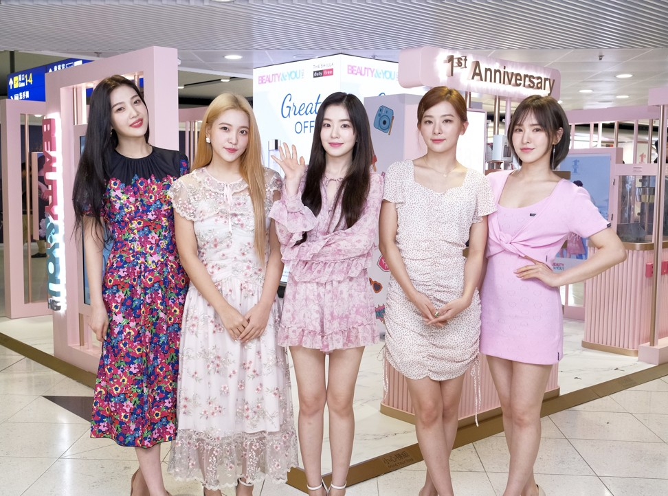 Red Velvet new album sees group accused of copying US designer's outfits