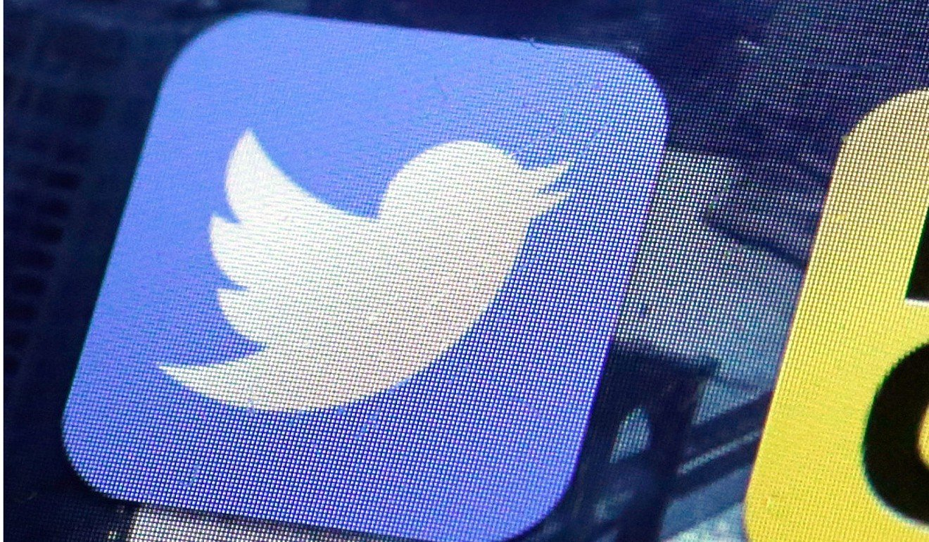 On Monday Twitter announced a ban on adverts from state media. Photo: AP