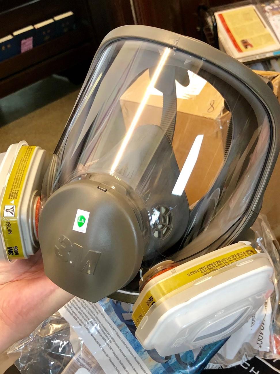 Gas mask sales soar in Taiwan as Hong Kong protesters seek fresh supplies