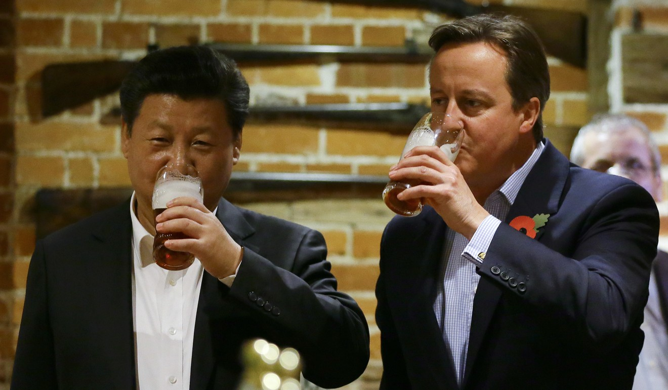China's super-rich embark on British spending spree as pound nosedives