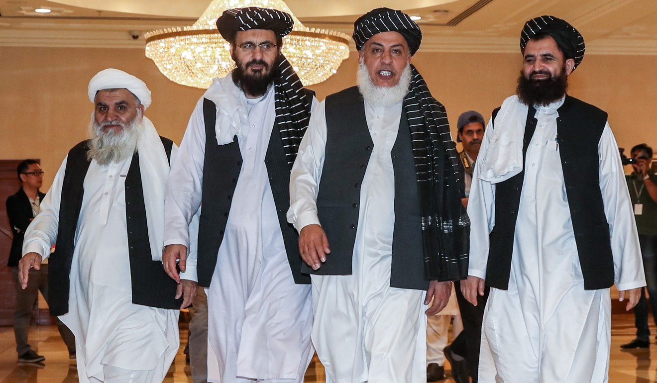 The US and the Taliban resume push for peace at Doha talks with aim to allow Washington to withdraw troops