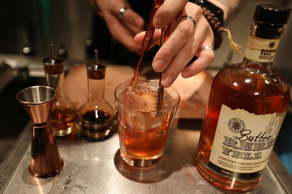 Fat-washed cocktails are taking off in Hong Kong, inspired by PDT's Benton's Old Fashioned