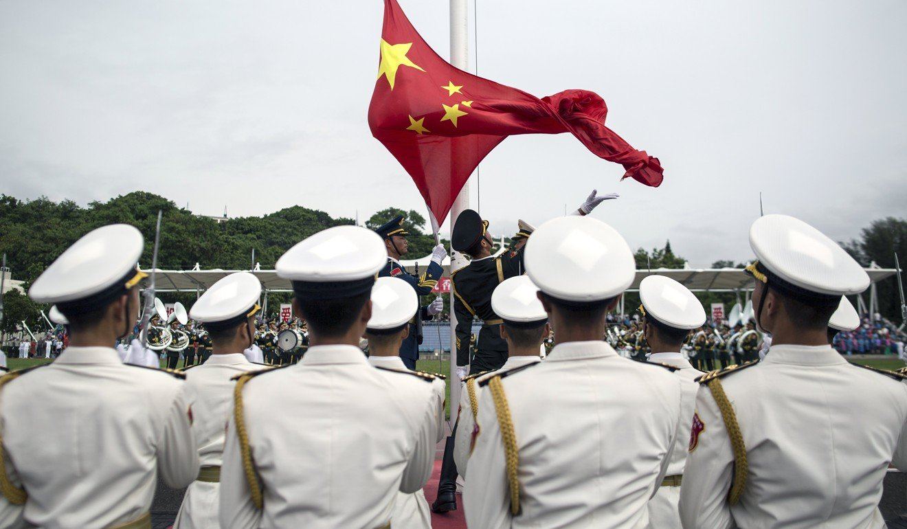 The PLA Navy's long-range operations will require more logistical support facilities in the future. Photo: EPA