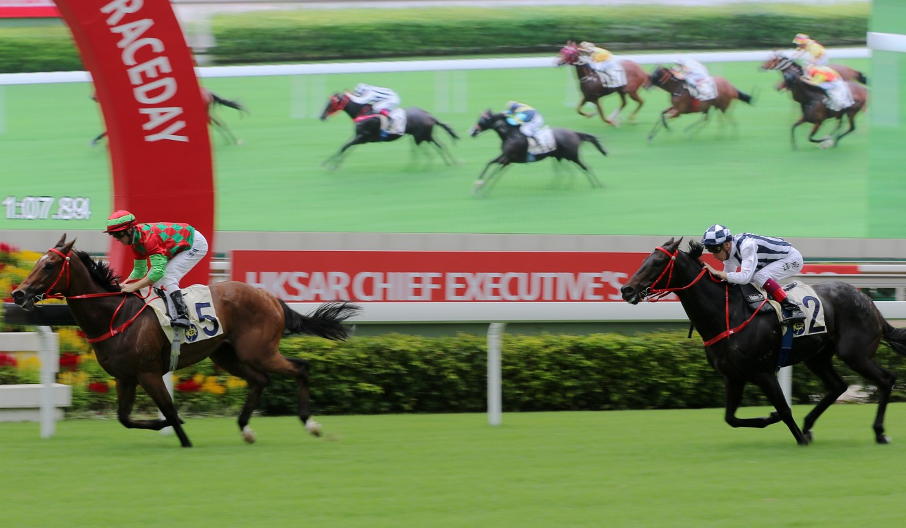 Regency Legend and Seasons Bloom hand Danny Shum the quinella in Sunday's feature.