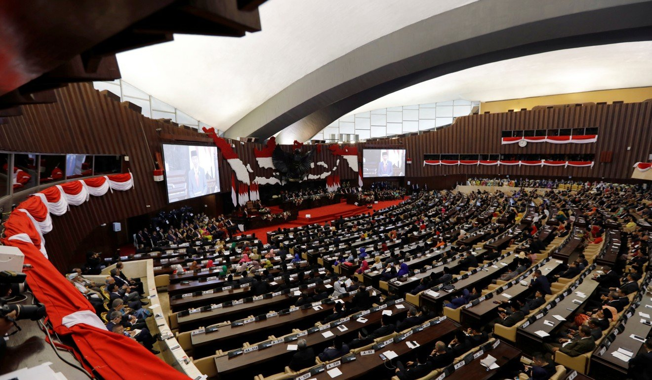 The Indonesian parliament. Photo: Reuters