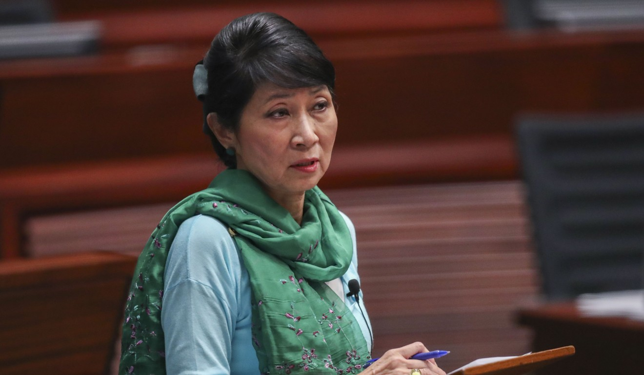 Lawmaker Claudia Mo has brushed off Lam's announcement. Photo: K.Y. Cheng