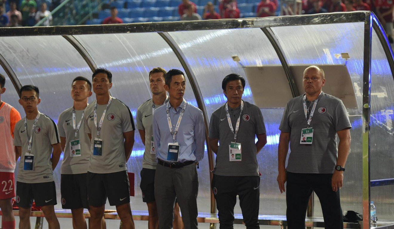 Hong Kong protests: calls for support for social movement when Hong Kong take on Iran in World Cup qualifiers
