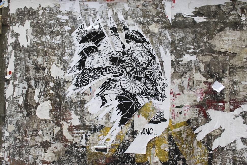 Boms is a Hong Kong street artist and dancer. Photo: Snow Xia
