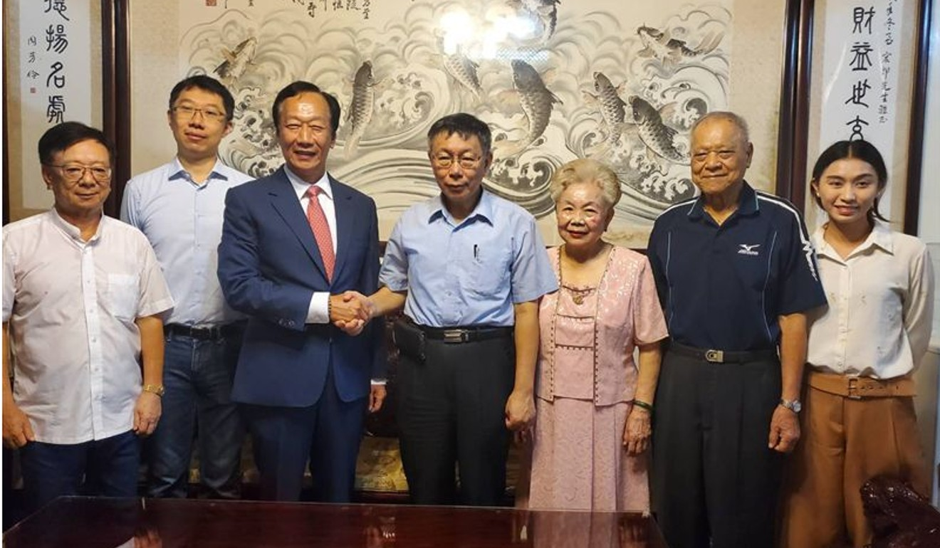 Did Foxconn boss Terry Gou just use mooncakes to announce his run for the Taiwan presidency?