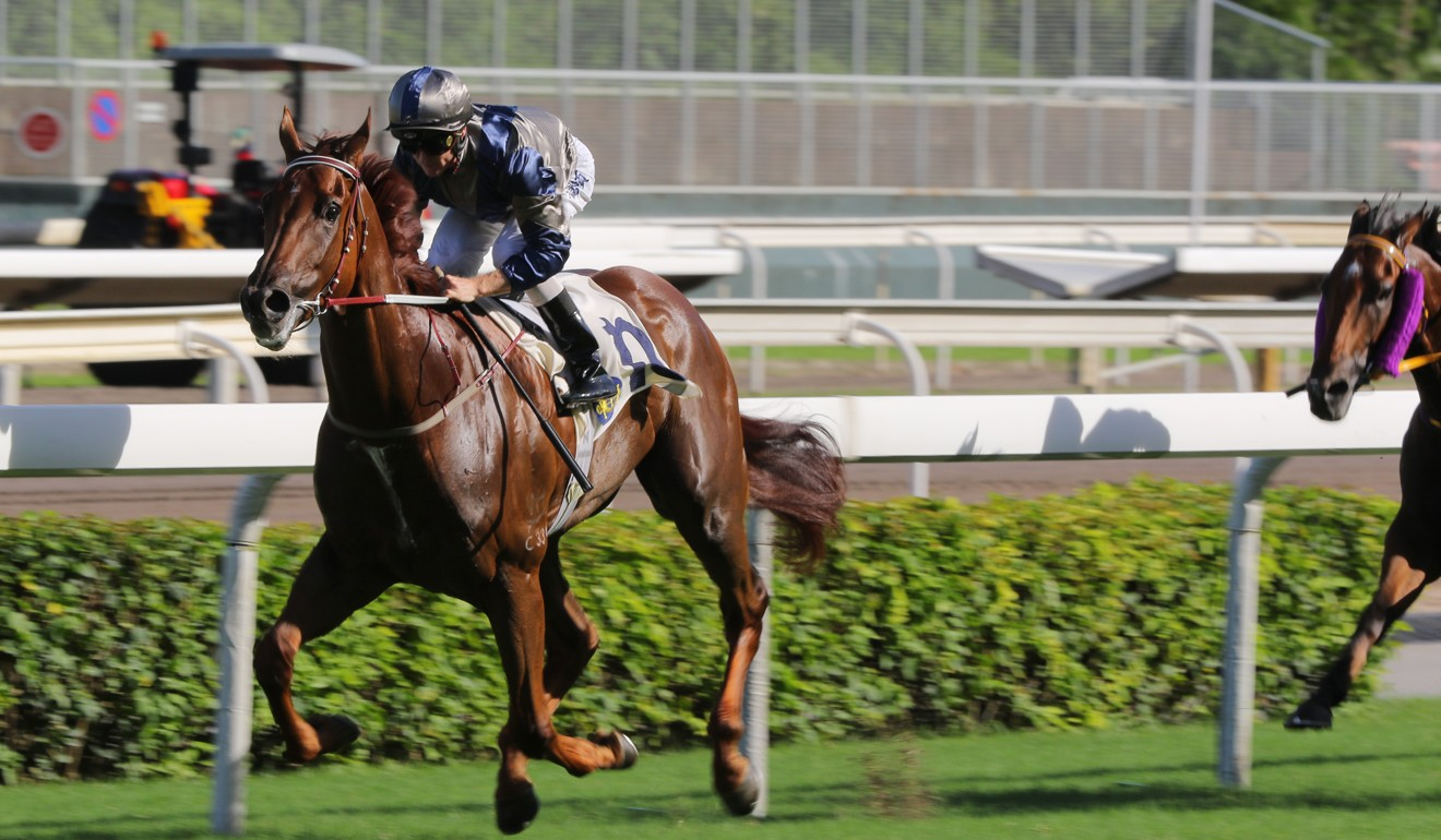 Rising prospect Aethero wins easily at Sha Tin under Zac Purton.