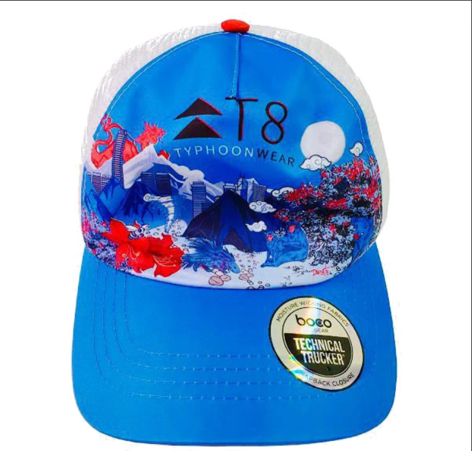 The T8 Boco Trucker is not just a great hat for running, but also a Hong Kong souvenir. Photo: T8