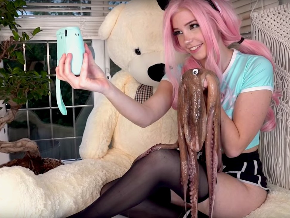 Has Belle Delphine, the model kicked off Instagram after posing with a dead octopus, gone too far?